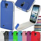 Leather Flip Case Cover Pouch Magnetic Closure For Samsung Galaxy S4 SIV i9500