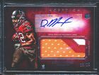 DOUG MARTIN 2012 Topps Inception Jumbo Patch Auto RC Red 3 color #13 25 (BuyMVP)