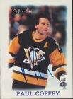 1988-89 O-PEE-CHEE MINIS - PAUL COFFEY #6 PITTSBURGH PENGUINS AUTOGRAPH CC