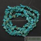 Natural Green Turquoise Gemstone 5mm 8mm Chip Spacer Beads 35 Jewelry Crafts