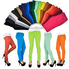 Skinny Colorful Jeggings Stretchy Sexy Pants Soft Leggings Pencil Zipper