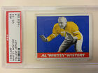 1948 LEAF Whitey Wistert Yellow Jersey #28 PSA 4