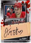 Darren McCarty 2013-14 In The Game Enforcers 2 II Autograph AUTO Card *J159