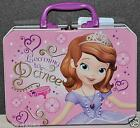 DISNEY PRINCESS SOFIA THE FIRST TIN BOX LUNCH BOX SNACK CRAYON BOX  GIRL GIFT