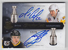 2011-12 THE CUP MARIO LEMIEUX RON FRANCIS STANLEY CUP SIGNATURES DUAL AUTO 12 25