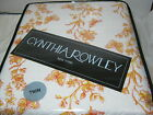 New Cynthia Rowley COLOR THERAPY Twin Quilt 66X86 Yellow Orange Floral Butterfly