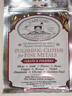FOIL POUCH CAPE COD METAL POLISHING CLOTHS SILVER GOLD PEWTER BRASS COPPER STEEL