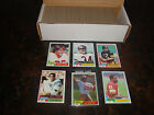 1981 Topps Football---Complete Set---1-528---Includes Montana, Monk RC's---NrMt