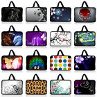 15 15.6 inch Laptop Computer Bag Sleeve Case Pouch w. Hidden Handle Many Designs