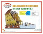 MODEL POWER N SCALE BUILDING UNDER DEMOLITION N SCALE BUILDING KIT TRAIN 1500