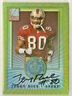Jerry Rice 2000 Elite Passing The Torch on-card Auto #'d 69 1500 - SF 49ers 100