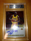 2002 2003 Topps Chrome Autograph Shaquille O'neal 838 850 9 Mint