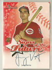 Joey Votto 2004 Bowman Signs of the Future RC on-card Auto - CINCINNATI REDS