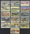 CIGARETTE TRADE CARDS. Kelloggs (Cereals). A HISTORY OF MILITARY AIRCRAFT. (Set)