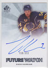 Rookie Collector's Guide to 2011-12 SP Authentic Hockey Future Watch Autographs 72