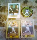 1987 TOPPS BARRY BONDS RC 2CT 1 IS WRONGBACK + TIFFANY + 1994 OSCAR MEYER
