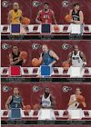 12ct 2010-11 Panini Totally Certified Basketball Red Jersey Card Lot *M430