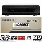 OPPO DIGITAL BDP-105D DARBEE EDITION UNIVERSAL NETWORK 3D BLU-RAY 4K PLAYER NEW