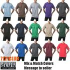 LOT 6 PACK PRO CLUB T SHIRTS PROCLUB MENS HEAVYWEIGHT SHORT SLEEVE BIG AND TALL