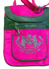 Hot Pink Juicy Couture Style Velour Ladies Shoulder Bag Ladies Handbag