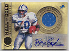2011 PANINI GOLD STANDARD BARRY SANDERS HALL OF GOLD AUTO JERSEY # 4 25