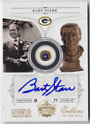 2010 NATIONAL TREAUSURES BART STARR EMBLEMS OF THE HALL AUTO AUTOGRAPH # 30 50