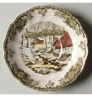 Johnson Brothers Friendly Village- Ice House - Tea Saucer NEW