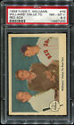 1959 Fleer Ted Williams #75 Williams' Value To Red Sox PSA 8.5