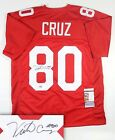 VICTOR CRUZ AUTOGRAPHED SIGNED NEW YORK GIANTS JERSEY STEINER JSA AUTHENTICATED