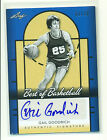 Gail Goodrich 2012-13 Leaf Best of Basketball Autograph Auto #1 10 Only10 Made