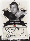 George Chuvalo 2011 In The Game Canadiana Autograph Black *N860