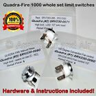 QuadraFire 1000 Pellet Stove Limit Switch Kit SRV230-0060/0071/0080 +Instruction