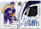 Luc Robitaille 2009-10 UD SP Authentic Rookie Review AUTO PATCH 044 100 *K721