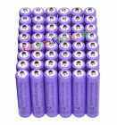 48x AAA 1800mAh 1.2 V Ni-MH rechargeable battery Purple for MP3 RC Toys Camera