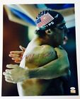 MICHAEL PHELPS AUTOGRAPHED SIGNED 16X20 OLYMPIC PHOTO JSA W435738