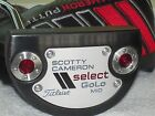 Scotty Cameron Select Black GoLo Mid 43 LEFT HAND Putter EXCELLENT CONDITION