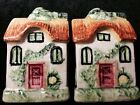 Vintage Pottery HOUSE With In In Back SALT And PEPPER Shaker SET Made In Japan