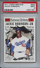 2011 TOPPS HERITAGE 592 JACKIE ROBINSON PSA 9 Mint
