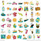 PACK YOUR BAG Cricut Travel Beach Ocean Cruise Pol Party Island Hibiscus Die Cut