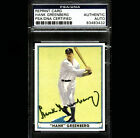 Hank Greenberg Reprint Card PSADNA Signed Autographed Auto 83483432