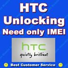 HTC ONE FIRST SENSATION M9 M8 V VS X X+ XL SV XV MINI 8S 8X  OTHERS UNLOCK CODE