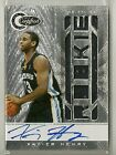 Xavier Henry 2010-11 Totally Certified Jersey RC Auto #'d 599 - GRIZZLIES LAKERS