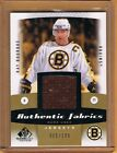 2010-11 SP Game Used Edition Ray Bourque Game Used Jersey 100 Bruins Avalanche