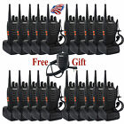 1xFree Speaker Mic+20xRetevis H777 UHF16CH Walkie Talkie 5W 2-Way Radio US+Track