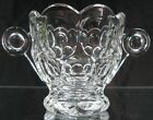 Vintage Early 1900's Heisey Glass Provincial Whirlpool Sugar Bowl