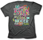 Brand New Womens Cherished Girl Christian T Shirt BIG FAITH Religious Jesus God