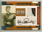 Dennis Eckersley 2010 Panini Century Collection 3 color GU Patch Auto #'d 1 50