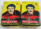 1983 DONRUSS MAGNUM PI TV SERIES-(2) box lot-FREE PRIORITY SHIPPING-as shown!