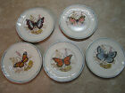 LONGCHAMP Decor Inalterable FACON MAIN FRANCE Butterfly Plates 6.25