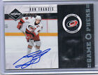 11-12 LIMITED GAME PUCK AUTO RON FRANCIS 20